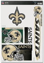 New Orleans Saints Decal 11x17 Ultra