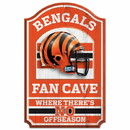Cincinnati Bengals Wood Sign - 11