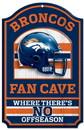 Denver Broncos Wood Sign - 11