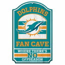 Miami Dolphins Wood Sign - 11