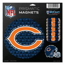 Chicago Bears Magnets 11x11 Prismatic Sheet