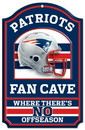 New England Patriots Wood Sign - 11