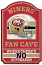 San Francisco 49ers Wood Sign - 11