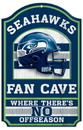 Seattle Seahawks Wood Sign - 11