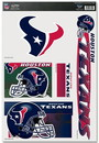 Houston Texans Decal 11x17 Ultra
