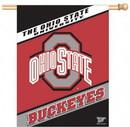 Ohio State Buckeyes Banner 27x37 Vertical Alternate Design