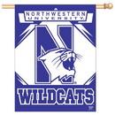 Northwestern Wildcats Banner 27x37