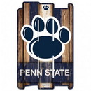 Penn State Nittany Lions Sign 11x17 Wood Fence Style