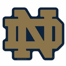 Notre Dame Fighting Irish Logo on the GoGo