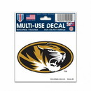 Missouri Tigers Decal 3x4 Multi Use Color Special Order