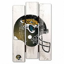 Jacksonville Jaguars Sign 11x17 Wood Fence Style