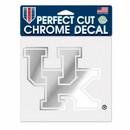 Kentucky Wildcats Decal 6x6 Perfect Cut Chrome