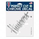 Nebraska Cornhuskers Decal 6x6 Perfect Cut Chrome