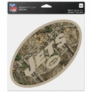 New York Jets Decal 8x8 Perfect Cut Camo Special Order