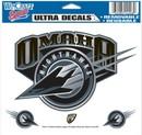 Omaha Nighthawks Decal 5x6 Ultra Color
