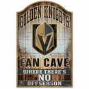 Vegas Golden Knights Sign 11x17 Wood Fan Cave Design Special Order