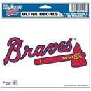 Atlanta Braves Decal 5x6 Ultra Color