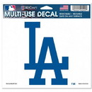 Los Angeles Dodgers Decal 5x6 Ultra Color