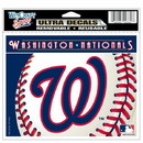Washington Nationals Decal 5x6 Ultra Color