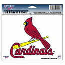 St. Louis Cardinals Decal 5x6 Ultra Color