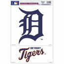 Detroit Tigers Decal 11x17 Ultra