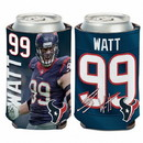 Houston Texans J.J. Watt Can Cooler