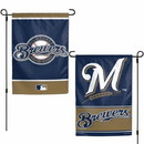 Milwaukee Brewers Flag 12x18 Garden Style 2 Sided