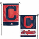 Cleveland Indians Flag 12x18 Garden Style 2 Sided