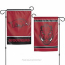 Arkansas Razorbacks Flag 12x18 Garden Style 2 Sided
