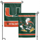 Miami Hurricanes Garden Flag 11x15
