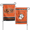 Oklahoma State Cowboys Flag 12x18 Garden Style 2 Sided Special Order