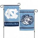 North Carolina Tar Heels Flag 12x18 Garden Style 2 Sided