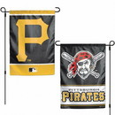 Pittsburgh Pirates Flag 12x18 Garden Style 2 Sided