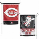 Cincinnati Reds Flag 12x18 Garden Style 2 Sided