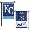 Kansas City Royals Flag 12x18 Garden Style 2 Sided