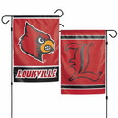 Louisville Cardinals Flag 12x18 Garden Style 2 Sided - Special Order