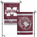 Mississippi State Bulldogs Flag 12x18 Garden Style 2 Sided