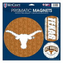 Texas Longhorns Magnets 11x11 Prismatic Sheet