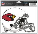 Arizona Cardinals Decal 5x6 Ultra Color