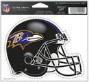 Baltimore Ravens Decal 5x6 Ultra Color