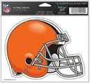 Cleveland Browns Decal 5x6 Ultra Color