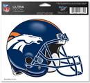 Denver Broncos Decal 5x6 Ultra Color