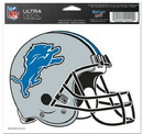 Detroit Lions Decal 5x6 Multi Use Color