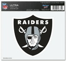Oakland Raiders Decal 5x6 Ultra Color