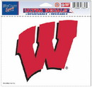 Wisconsin Badgers Decal 5x6 Ultra Color
