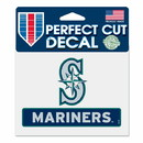 Seattle Mariners Decal 4.5x5.75 Perfect Cut Color