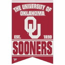 Oklahoma Sooners Banner 17x26 Pennant Style Premium Felt