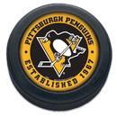 Pittsburgh Penguins Hockey Puck Packaged Est 1967 Design