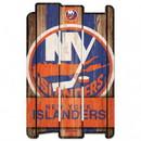 New York Islanders Sign 11x17 Wood Fence Style
