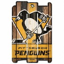 Pittsburgh Penguins Sign 11x17 Wood Fence Style